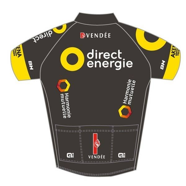 Maillot v lo manches courtes al direct energie 2017 - Direct energie simulation ...
