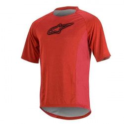 Maillot VTT manches courtes Alpinestars Rover Rouge