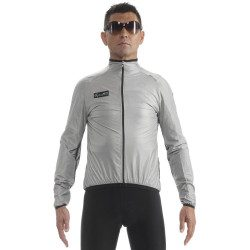 Veste coupe-vent vélo Assos SJ Works Team Shelljacket Mercedes AMG Petronas Evo 8