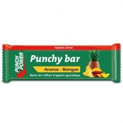 Barre énergétique Punch Power Punchy Bar Ananas Mangue 30g
