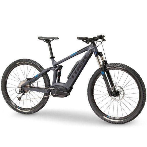 vtt lectrique tout suspendu 27 5 trek powerfly fs 5 2018. Black Bedroom Furniture Sets. Home Design Ideas