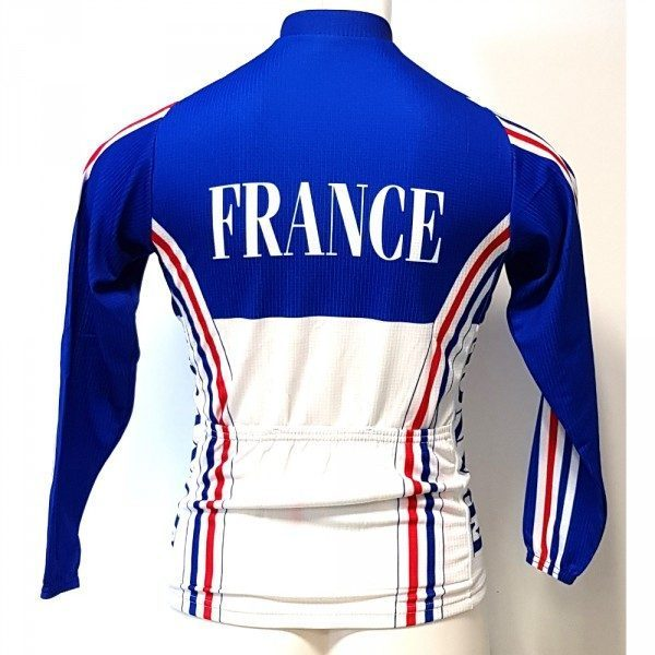 maillot v lo manches longues adidas mma quipe de france ffc. Black Bedroom Furniture Sets. Home Design Ideas
