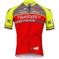 Maillot vélo manches courte Wilier Triestina Team Force 2017