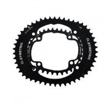 Ensemble plateaux Osymetric 4 branches Campagnolo 145 mm