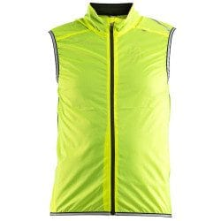 Gilet coupe vent vélo sans manches Craft Lithe 2018