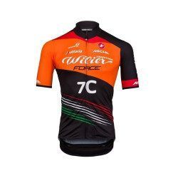 Maillot VTT manches courtes Castelli Podio Team Willier Force 7C