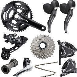 Groupe complet Gravel Shimano GRX RX810 Disc 2X11 vitesses