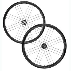 Roues vélo route Campagnolo Shmal Carbon Disc Brake WH-21 Dark Label à pneus